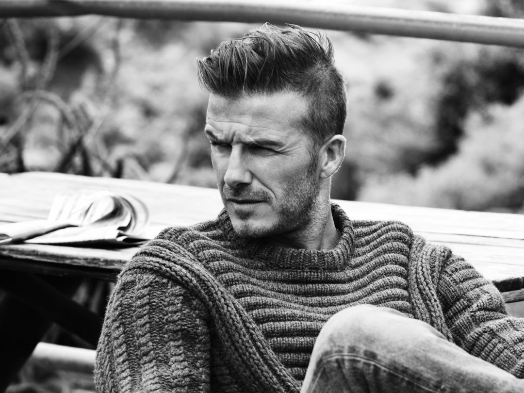Inspired By David Beckham How To Get His Side Sweep