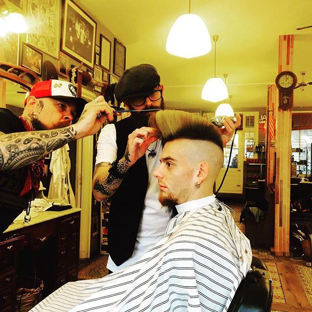 how to tease hair guys